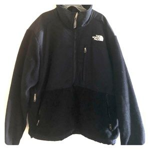 Black north face coat